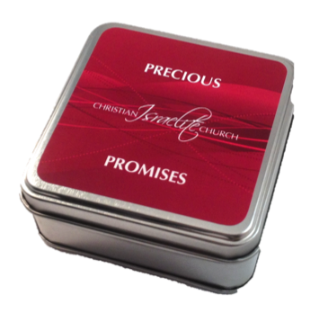 Precious Promise Box Red