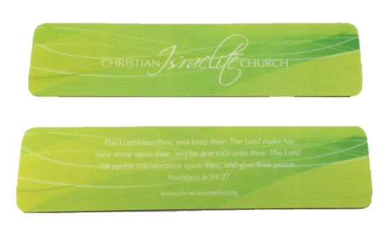 Book Mark Light Green